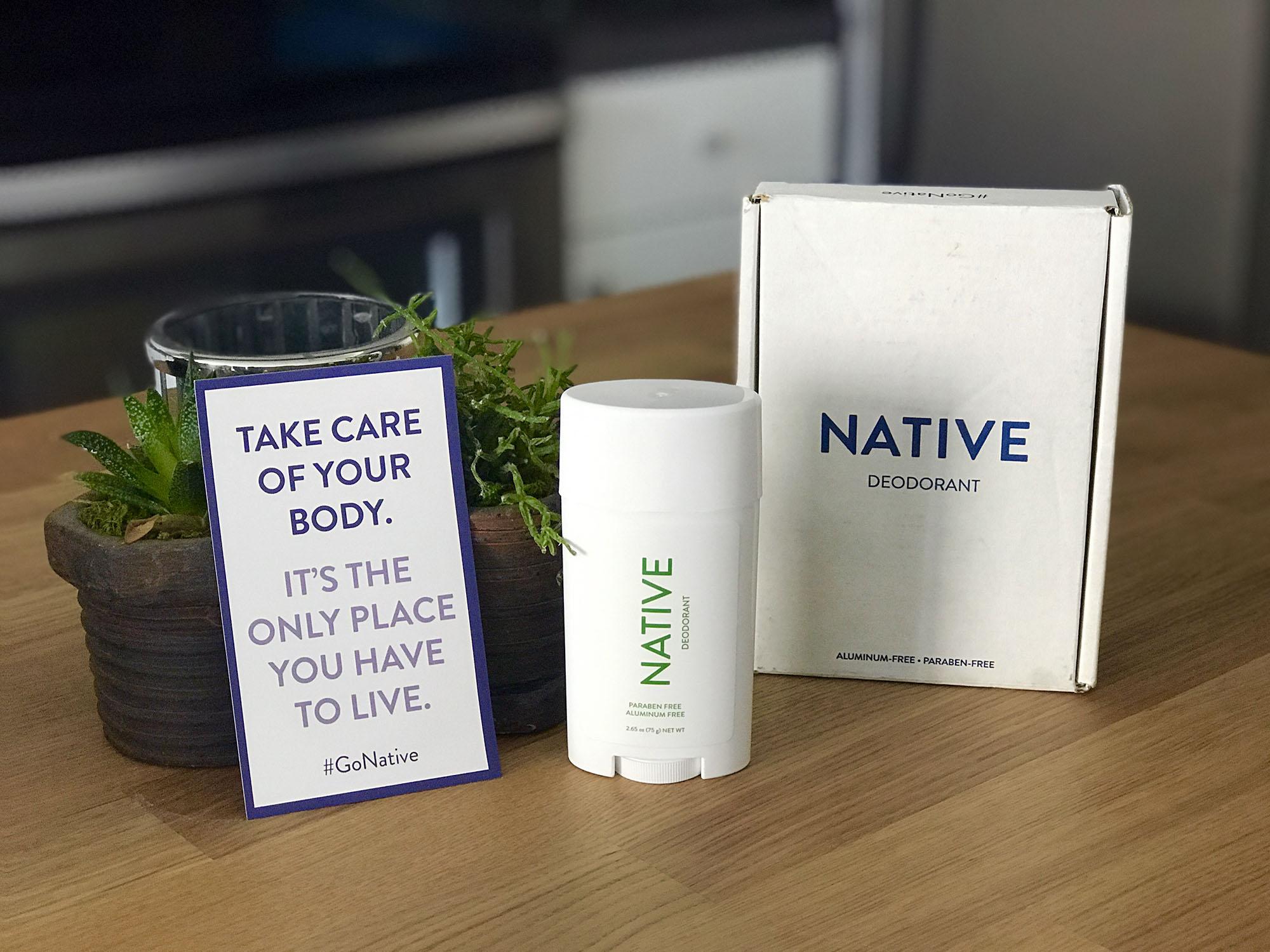 Native Deodorant Coupon
