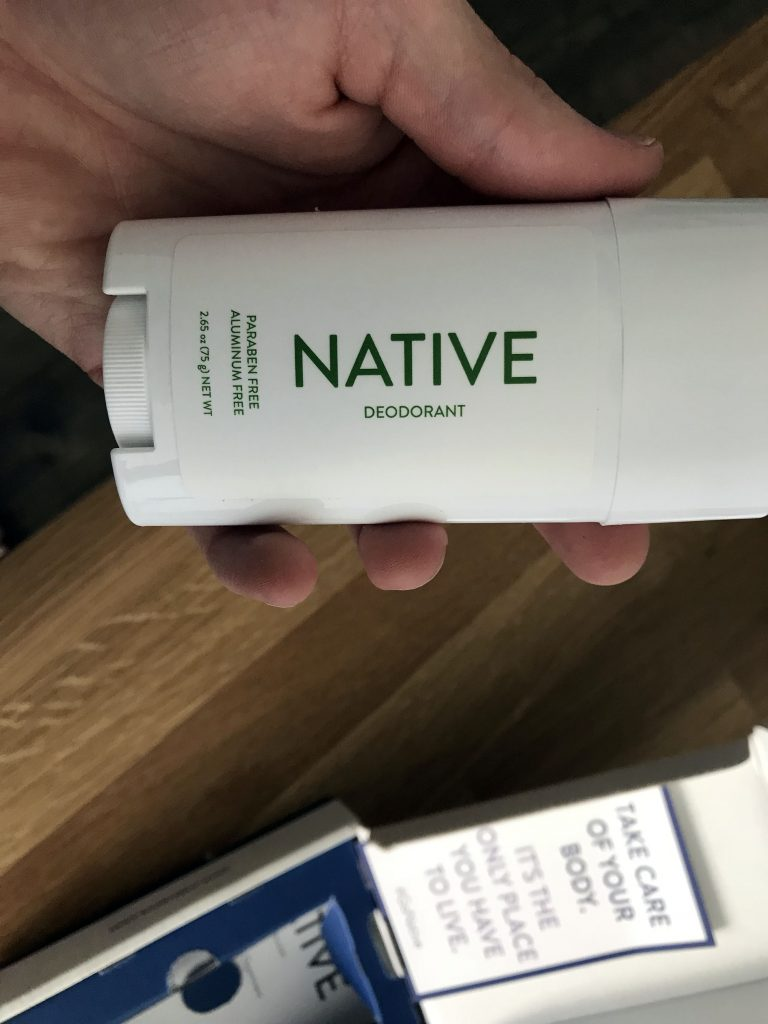 native deodorant for men