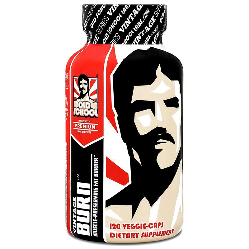 Old School Labs Vintage Burn Thermogenic Fat Burner Weight Loss Supplement