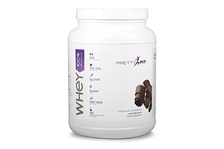 PrettyFit All-Natural Whey Protein Isolate