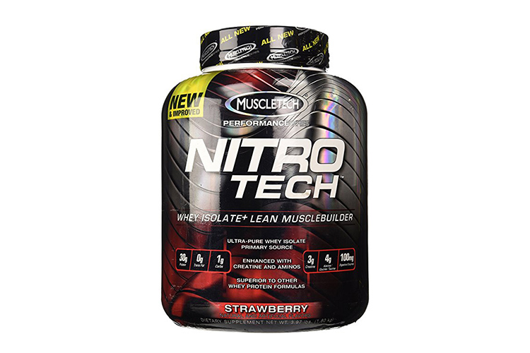 NitroTech- Whey Isolate Protein Powder