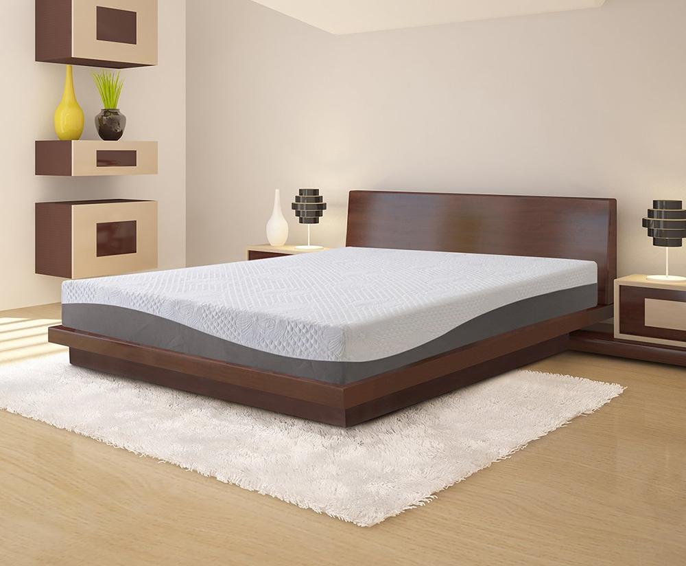 Olee Sleep 10-Inch Aquarius Memory Foam Mattress
